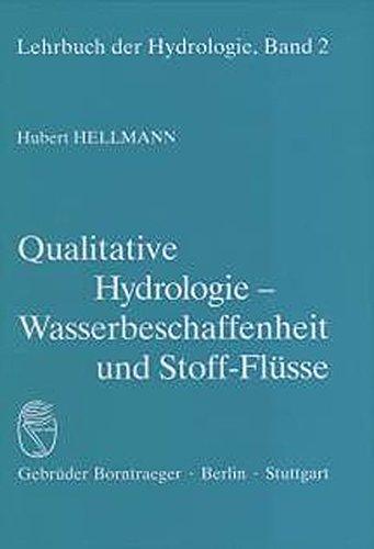 Qualitative Hydrologie: Hubert Hellmann