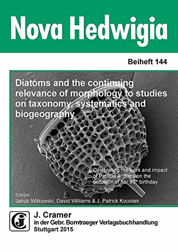 Diatoms and the continuing relevance of morphology to studies on taxonomy, systematics and ...
