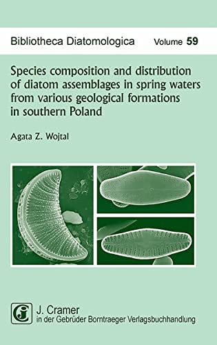 Species composition and distribution of diatom assemblages in spring waters from various geological...