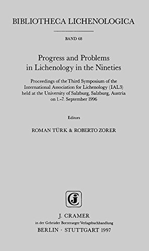 Progress and Problems in Lichenology in the Nineties: Roman T�rk