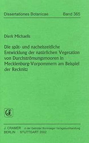 Die spät- und nacheiszeitliche Entwicklung der natürlichen Vegetation von Durchströ...