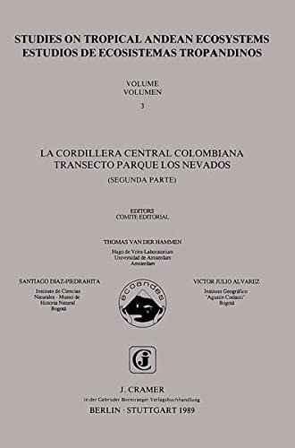 9783443650025: Studies on tropical Andean ecosystems