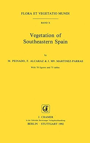 9783443660024: Vegetation of Southeastern Spain