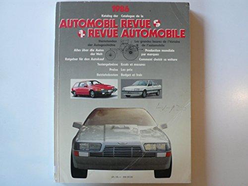 9783444004506: Katalog 86 der Automobil Revue