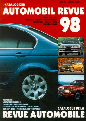 9783444105166: Katalog der Automobil Revue 98