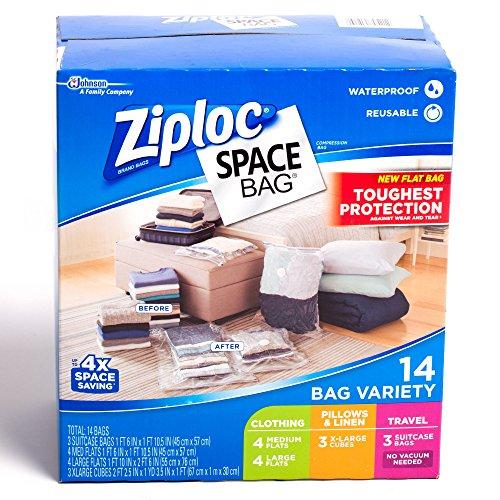 9783444216275: Vacuum Space Saving Storage Bags Store Clothes Ziploc–Pack of 15