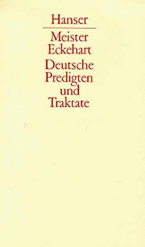 9783446106628: Deutsche Predigten und Traktate