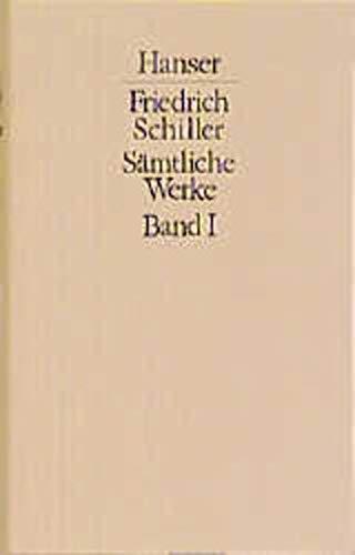 SÄMTLICHE WERKE in fuenf Bänden und Begriffsregister zu den theoretischen Schriften: Schiller, ...