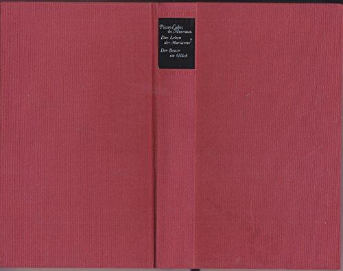 9783446108660: Romane: Das Leben der Marianne. Der Bauer im Glück