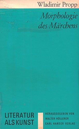 9783446115811: Morphologie des Märchens