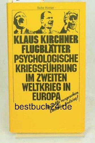 Flugblätter.: Kirchner, Klaus