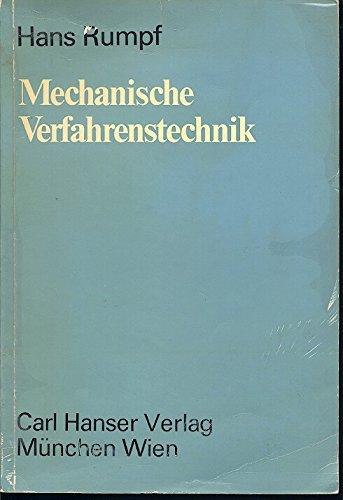 9783446119871: Mechanische Verfahrenstechnik