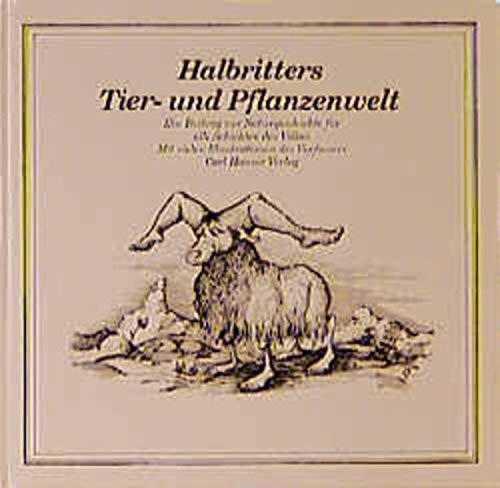 9783446119901: Halbritters Tierwelt und Pflanzenwelt