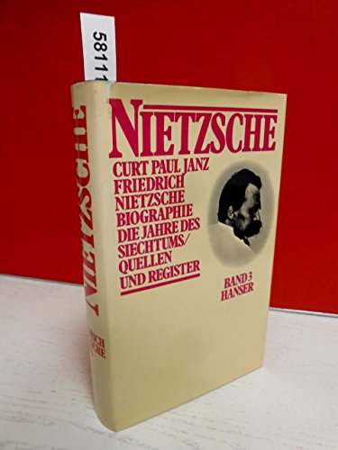 9783446125087: Friedrich Nietzsche: Biographie. Dritter Band