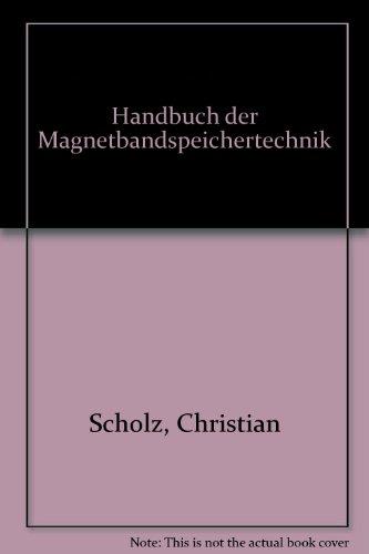 9783446125780: Handbuch der Magnetbandspeichertechnik