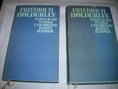 Sämtliche Werke und Briefe in zwei Bänden, hersg. von Guenter Mieth: Hölderlin, Friedrich