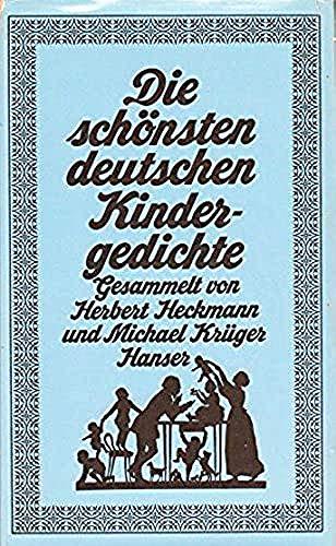 9783446127081: Die schönsten deutschen Kindergedichte (6813 984)