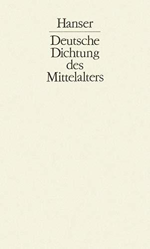 Deutsche Dichtung des Mittelalters I bis III: Michael Curschmann
