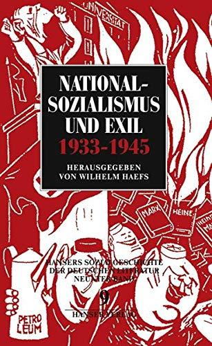 9783446127845: Nationalsozialismus und Exilliteratur (1933-1945): Bd. 9