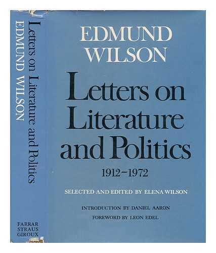 9783446128040: Letters on Literature and Politics 1912-1972