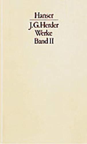 Herder und die Anthropologie der Aufklärung: Johann Gottfried Herder