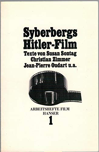 9783446130104: Syberbergs Hitler-Film (Arbeitshefte Film) (German Edition)