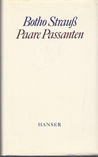 9783446134508: Paare, Passanten (German Edition)
