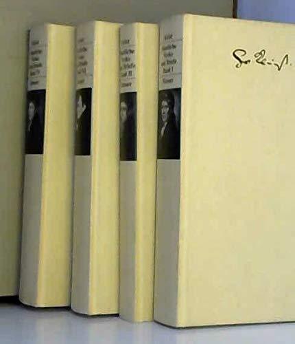 9783446135499: Sämtliche Werke und Briefe in vier Bänden