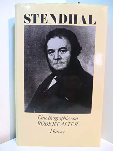 Stendhal: Eine kritische Biographie (3446135839) by Alter, Robert