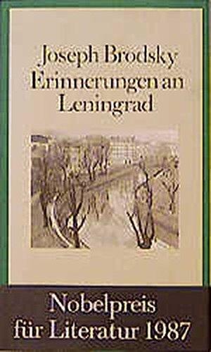 Erinnerungen an Leningrad: Brodsky, Joseph