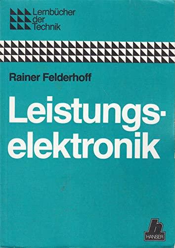 9783446138308: Leistungselektronik