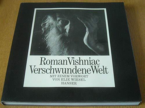 9783446138414: Roman Vishniac. Verschwundene Welt