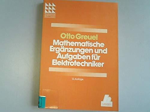 9783446153691: Mathematische Ergänzungen und Aufgaben für Elektrotechniker