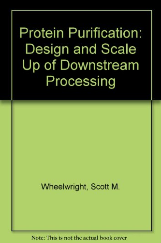 9783446157033: Protein Purification: Design and Scale Up of Downstream Processing
