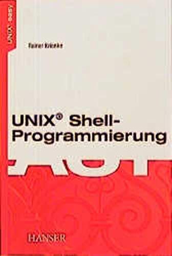 9783446187252: UNIX(R)-Shell-Programmierung