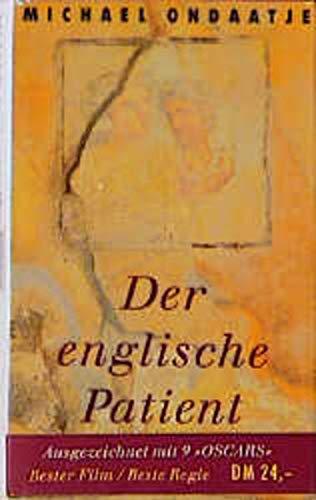 9783446190399: Der Englische Patient. Sonderausgabe zum Film