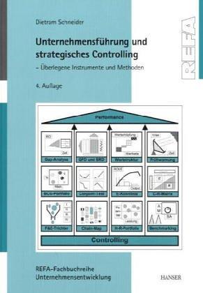 9783446191754: Unternehmensführung und strategisches Controlling