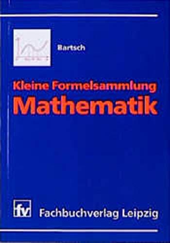 9783446194038: Kleine Formelsammlung Mathematik