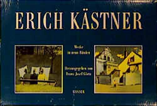 Erich Kästner Werke in neun Bänden von: Franz Josef Görtz