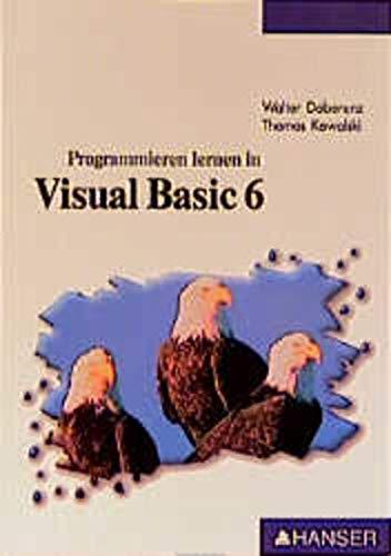 9783446195967: Programmieren lernen in Visual Basic 6.