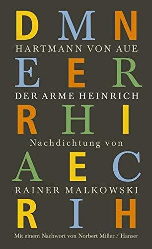 9783446202870: Der arme Heinrich.