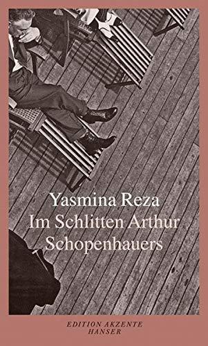 Im Schlitten Arthur Schopenhauers. - signiert: Reza, Yasmina