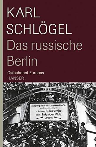 9783446208803: Das russische Berlin