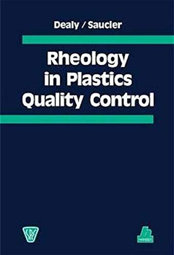 9783446210691: Rheology in Plastics Quality Control