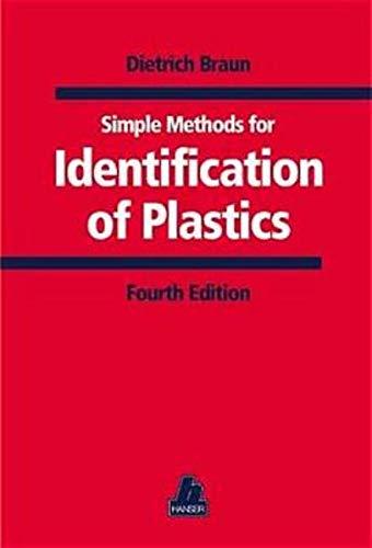 9783446211131: Simple Methods for Identification of Plastics