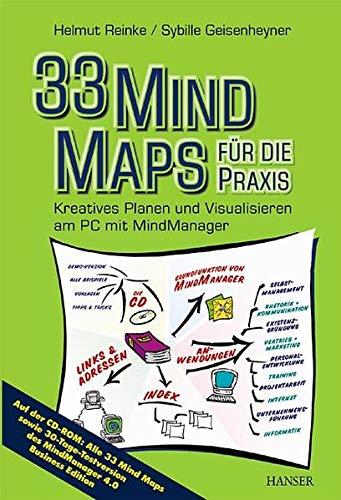 9783446214767: 33 Mind Maps f�r die Praxis.