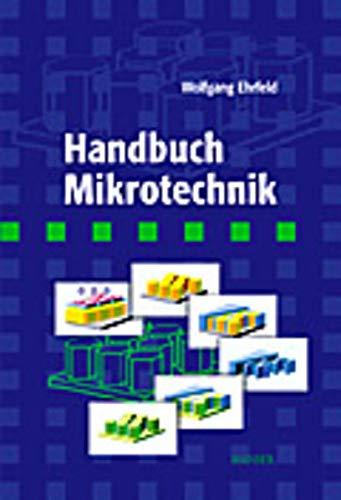 9783446215061: Handbuch Mikrotechnik.