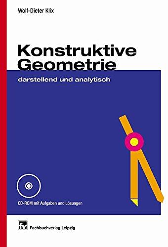 9783446215665: Konstruktive Geometrie: Darstellend und analytisch