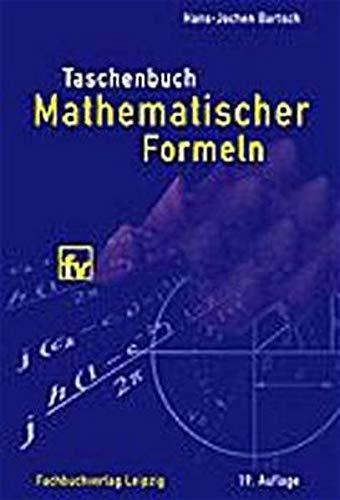 9783446217928: Taschenbuch mathematischer Formeln.