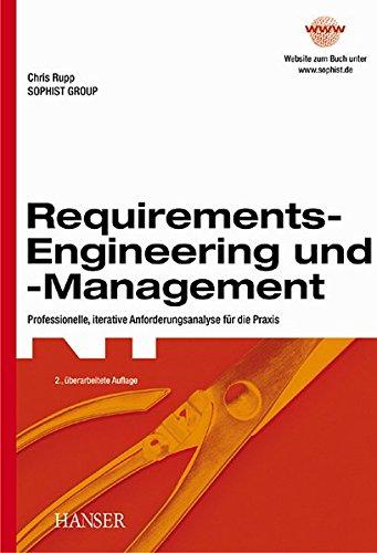 9783446219601: Requirements- Engineering und - Management.